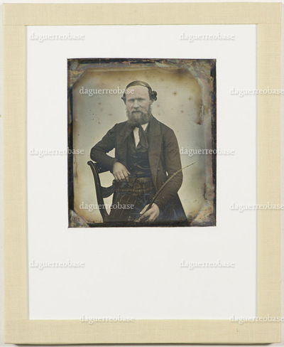 The provenance of this daguerreotype was Ragnvald Krum, the son of photographer Hans Krum.