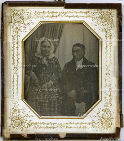 Portrait of an elderly couple, anonymous (see also DK_PRI_ATM022)