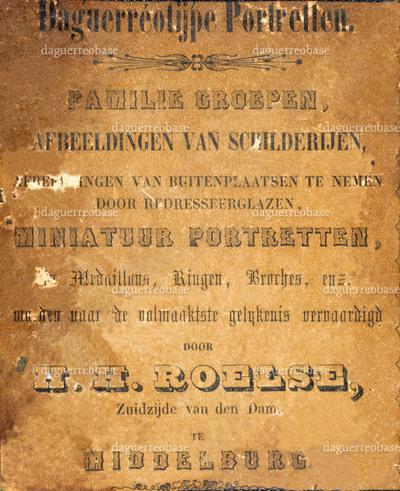 Roelse H. H.