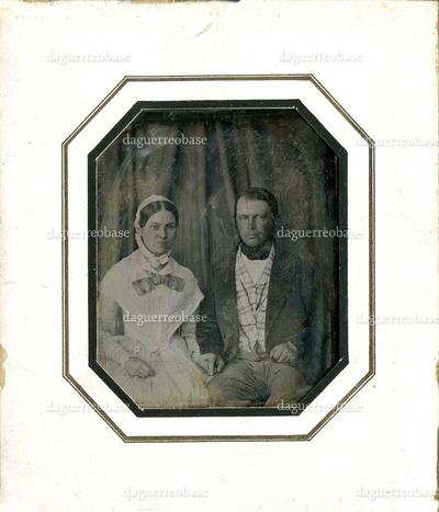 [Porträt Friedrich Rudolf von Schweinitz (1818-1880) und Ida Friederike Eva Eleonora Vally von Schweinitz geb. Pippow (1822-1905)]