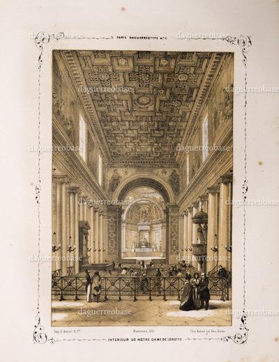 Intérieur de Notre Dame de Lorette.