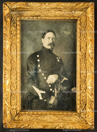 Portrait of an unknown French officer