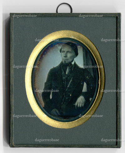 Porträt des Daguerreotypisten Eduard Scholz