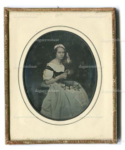 [Porträt einer jungen Frau (Bertha Unzelmann ?)]