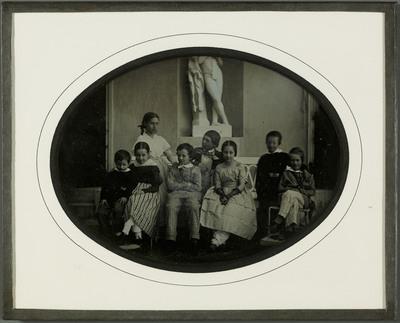 Gilly (VD), les petits-enfants et les petits-neveux de Jean-Gabriel Eynard à Beaulieu