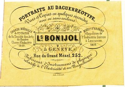 Etikett von Ls. Bonijol