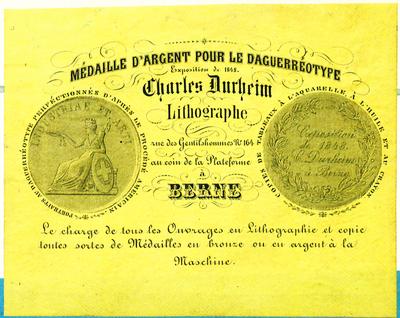 Etikett von Charles Durheim