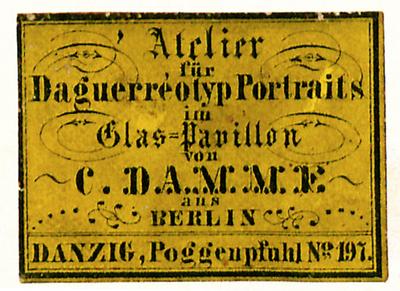 Etikett von C. Damme