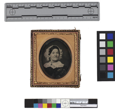 Atributted: Portrait of woman wearing a bonnet