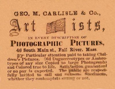 Geo. M. Carlisle & Co Artists