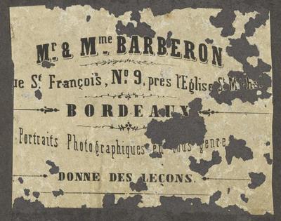 Barberon, Mr & Mme