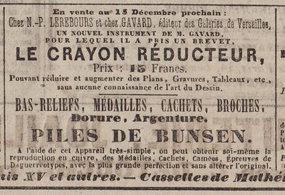 Journal des Débats - Le Crayon Réducteur