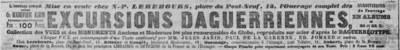Journal des Débats - Excursions Daguerriennes