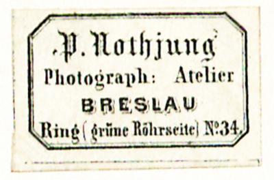 Etikett von P. Nothjung
