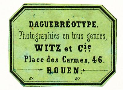 Diverse Etiketten von Witz et Cie.