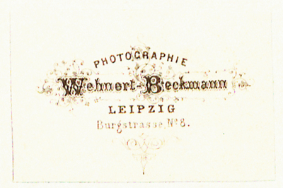 Etikett von Wehnert-Beckmann