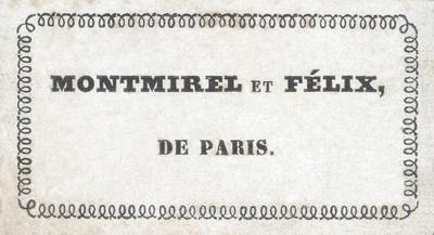 Montmirel et Félix