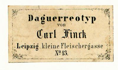 Etikett von Carl Finck