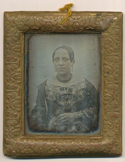 Portrait of a woman - Terezie Boháčová-Tejnilová