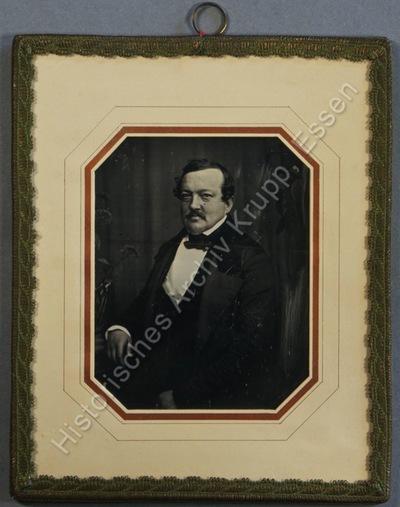 K. Gantesweiler war der erste Prokurist von Krupp