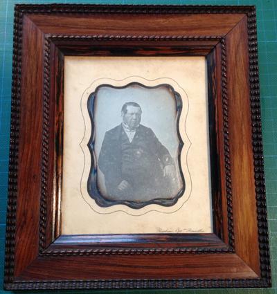 Portrait of a man, Edouard van de Poele, grand père de Jules van de Poele