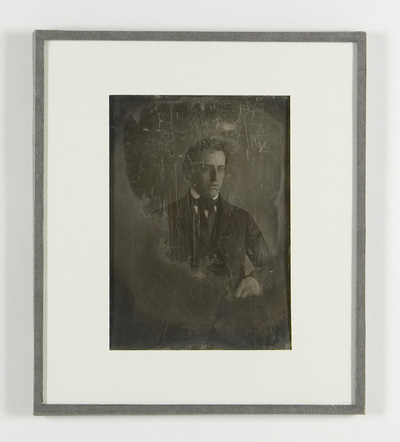 loose plate; portrait of Jacobus Enschedé