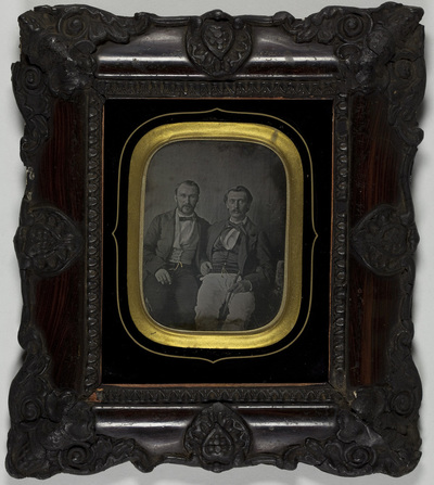 Portrait of two men
