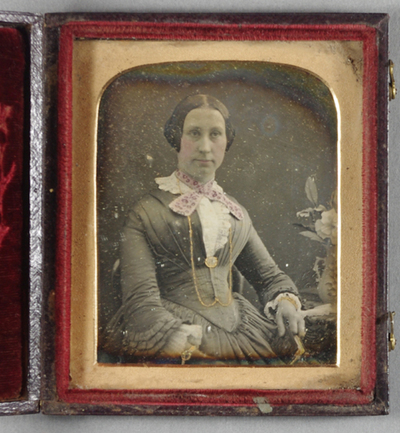 This daguerreotype is one of a group of 4: A.50, A.49, A.51, A.52