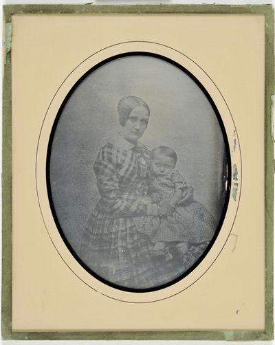 Portrait of a mother with child