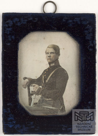 portrait of soldier - officer