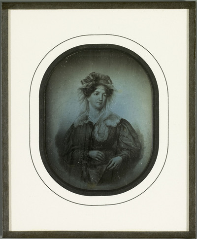 Amélie Lullin de Chateauvieux, reproduction d'un dessin
