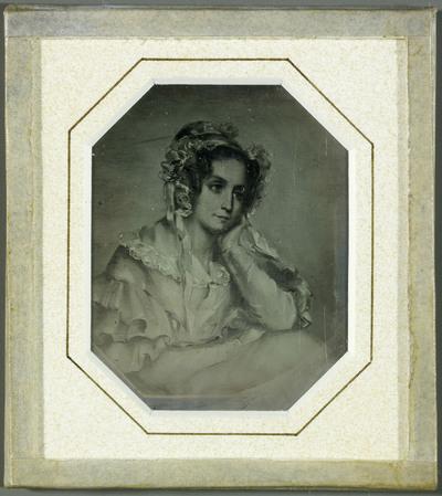 Albertine de Staël, reproduction du pastel de Gabriel Delessert