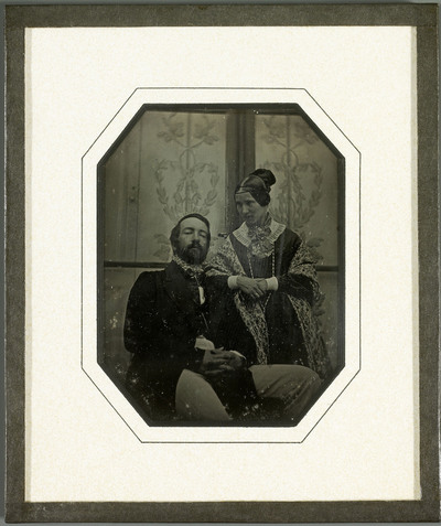 Portraits de Charles et Sophie Eynard