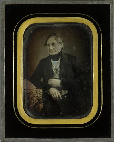 Autoportrait de Jean-Gabriel Eynard