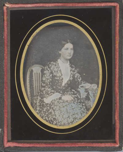 Portrait of an unknown young woman