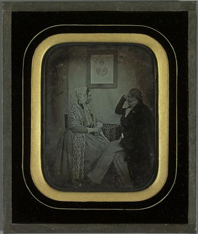 Le couple Jean-Gabriel et Anna Eynard