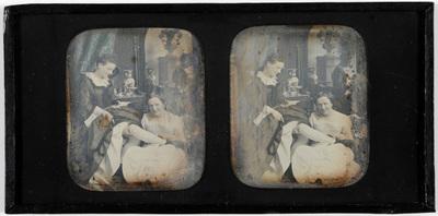 Erotic stereodaguerreotype