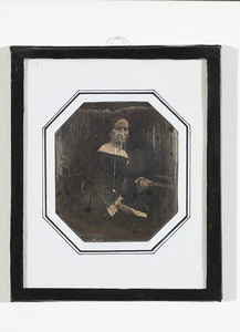 Portrait of unknown woman sitting, letter with a seal  in her left hand.