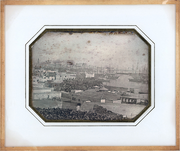 The military harbour of  Alexandria