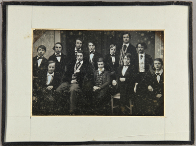 Gruppenbild mit 12 jungen Männern, Schüler des Katharineums.