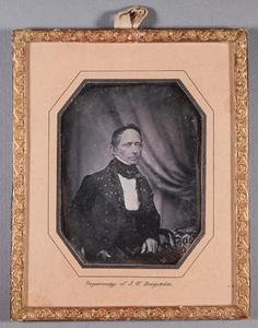Portrait of Pehr Arvid Finckenberg (1793-1846).