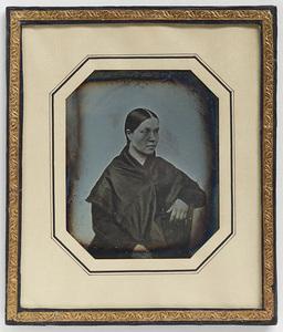 Portrait of Ebba Katariina Vilhelmiina Stenbäck b. Arppe.