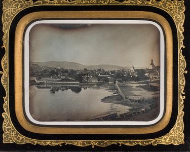 Bergen set fra Seiersberget