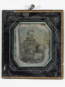 Portrait of unknown officer.