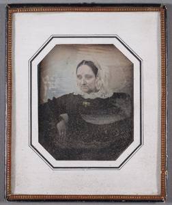 Portrait of unknown woman, tinted.