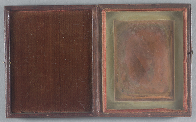 Electrotype (Tithonotype) copy of a daguerreotype.