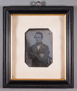 Self portrait, Henrik Cajander (1804-1848).