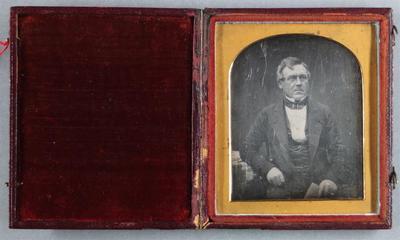 Etats-Unis. Daguerréotype, 1/6 de plaque, 7 x 5,6 cm