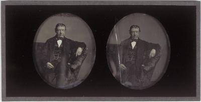 Portrait of Domien Sleeckx' father