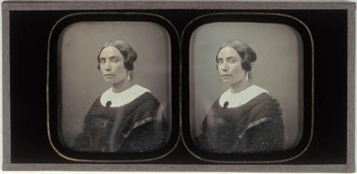 Portrait of Jozefina Nelsen, Domien Sleeckx' wife
